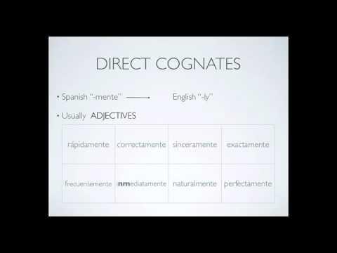 Los Cognados - cognates