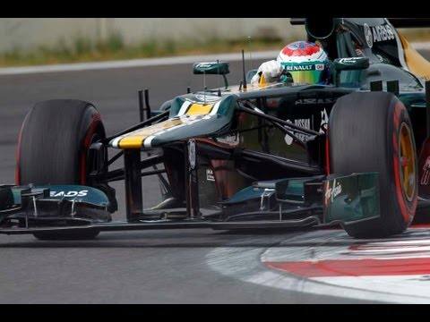 How tyre performance affects F1 car set-up: Caterham F1 technical