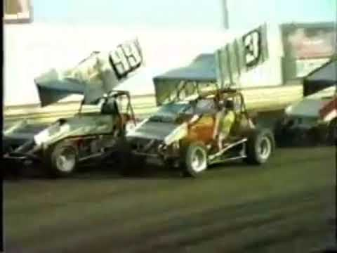 San Jose Speedway - July 23rd 1988 - Mike Sargent - Nick Rescino