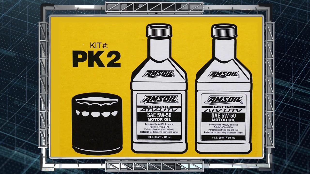 Amsoil Atv Utv Oil Change Kits