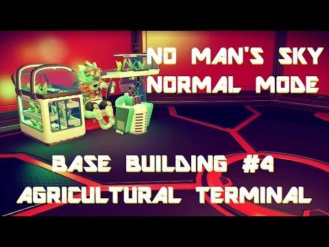 No Man's Sky | Base Building #4 - Agricultural Terminal, Normal Mode.