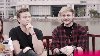 5 Seconds Of Summer talks about Youngblood, wanting to come back to Manila, and more but better