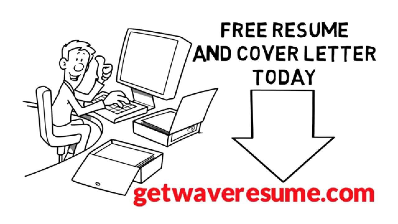 resume Actual Free Resume Builder free resume builder tool wave youtube