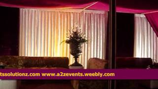 Best Weddings Setups, Stylish & Out Class Pakisani Traditional Weddings Setups Offered By A2z Events