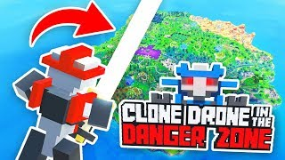 NEW BATTLE ROYALE WITH ROBOTS (Clone Drone in the Danger Zone: Last Bot Standing Funny Gameplay)