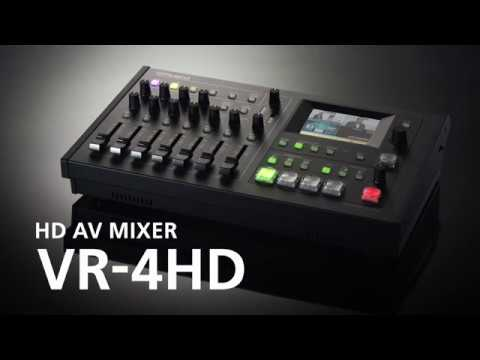 Roland VR-4HD Introduction Video