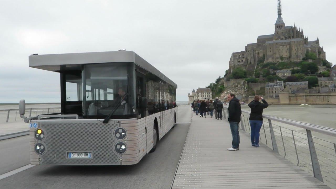 mont saint michel bus double cabine youtube. Black Bedroom Furniture Sets. Home Design Ideas