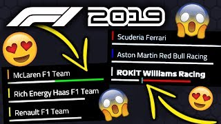 NEW F1 2019 GAME UPDATE 1.05 PATCH IS HERE! - TESTING NEW HANDLING!