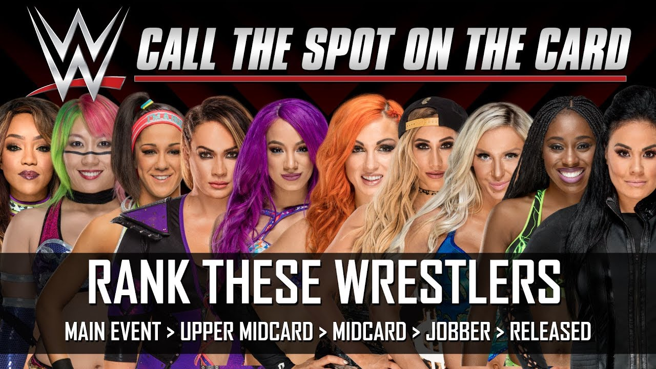 WWE Survivor Series 2017 Womens Elimination Match Team Members Ranked Call The Spot
