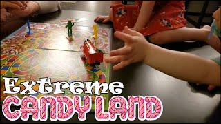EXTREME CANDY LAND | MOMDAYS FAMILY GAME NIGHT | HEIST OF THE CENTURY
