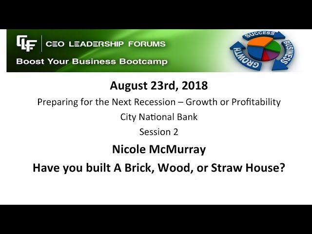 2018 08 23 CEO Leadership Session 02 McMurray