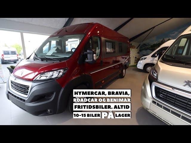 Bravia, HymerCar, RoadCar og Benimar fritidsbiler
