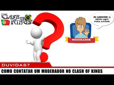 CLASH OF KINGS, COMO CONTATAR O MOD (MODERADOR)