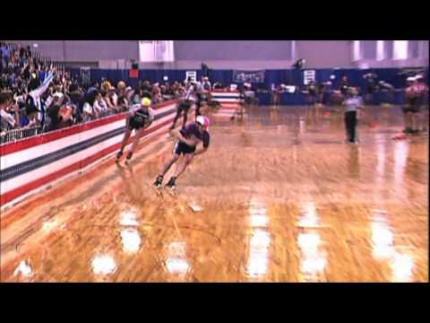 Inline speed skating Master 4-man Final 2013