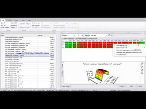 How to remap Launch control map into EDC15 1 9TDi PD using VAG EDC