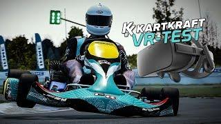 Virtual Reality Test - KartKraft Early Access | Gameplay Deutsch Oculus Rift