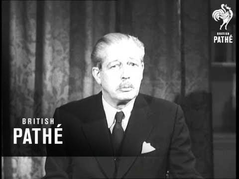 Selected Originals - Macmillan's Speech From 10 Downing Street  (1957)