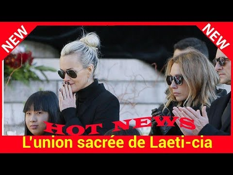 L'union sacrée de Laeticia Hallyday avec David et Laura lors des funérailles : une simple trêve?