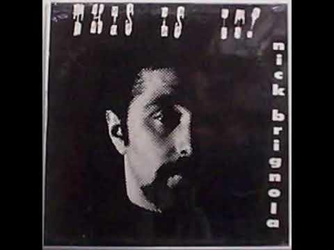 Rare Vinyl LP - Nick Brignola -
