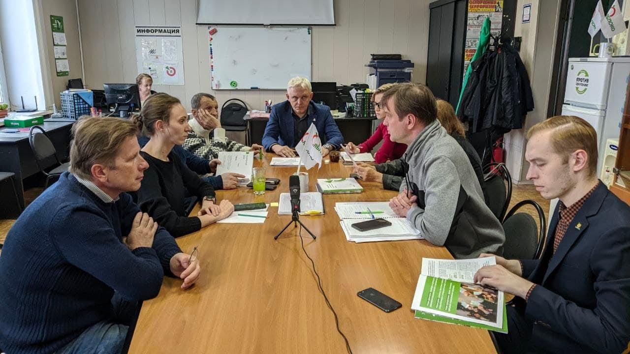 Встреча актива: обсуждение реформы, экологические проблемы и выборы.