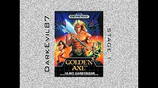 Golden Axe (Sega Genesis) Stage 1