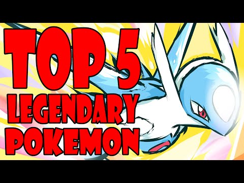 Top 5 Legendary Pokemon poster