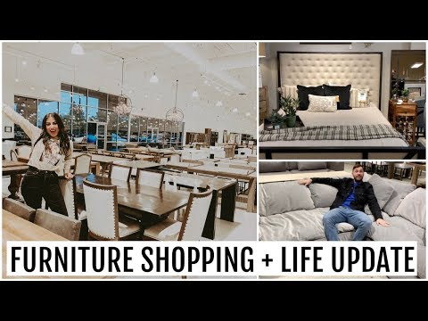COME FURNITURE SHOPPING WITH ME & LIFE UPDATE