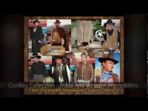 e20957dbe47ce6 The Cowboy Collection From Tribal And Western Impressions - YouTube