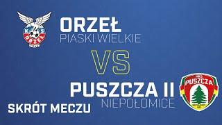 [Skrót] Orzeł Piaski Wielkie Kraków - Puszcza II Niepołomice 0-0   PUSZCZA TV