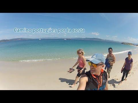 Camino Portugués por la costa, Cuatro en el Camino 2017 Travel Guide.