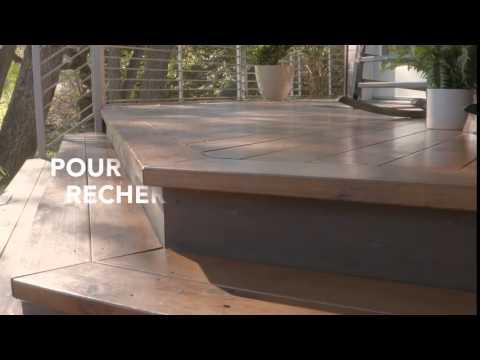 teinture pour le bois donnant des r sultats professionnels la flood s rie pro youtube. Black Bedroom Furniture Sets. Home Design Ideas