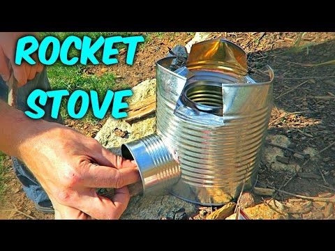 Thumbnail: DIY Rocket Stove Out of Cans