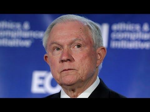 Sessions faces senators' questions