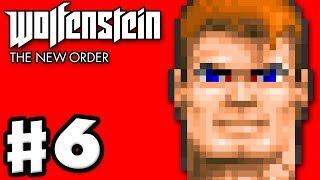 Wolfenstein: The New Order - Gameplay Walkthrough Part 6 - Wolfenstein 3D! (PC, Xbox One, PS4)