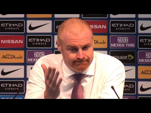 Manchester City 3-0 Burnley - Sean Dyche Full Post Match Press Conference - Premier League
