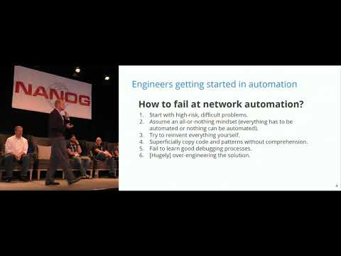 Network Automation: past, present, and future