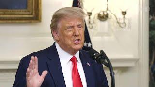 Положительный тест на коронавирус сдал президент США Дональд Трамп как и его супруга Мелания