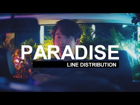 GOT7 - Paradise | Line Distribution