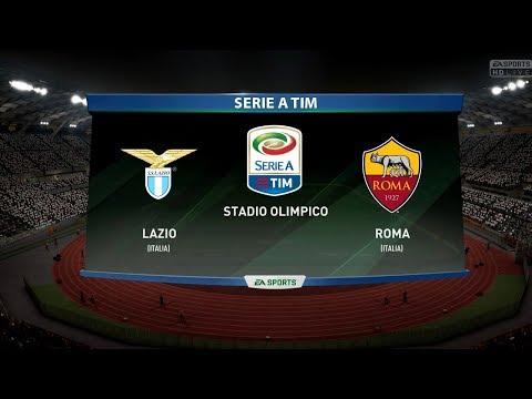 LAZIO VS AS ROMA !Derby Serie A Tim  18/11/2017 FIFA 18 Predicts by Pirelli7