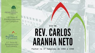 Palavra do Rev. Carlos Aranha Neto
