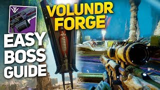 Super Easy Boss Strategy! - Volundr Forge Guide for Low-Levels! (Destiny 2 Black Armory)