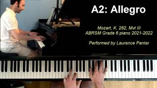 A:2 Allegro (ABRSM Grade 6 piano 2021-2022)