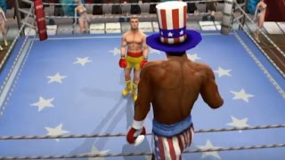 Rocky legends (PS2) Ivan Drago vs Apollo Creed (Career Ivan Drago)