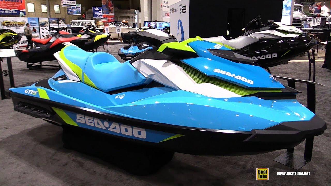 Sea Doo Gti 130 >> 2016 Sea Doo Gti 130 Jet Ski Walkaround 2016 Toronto Boat Show