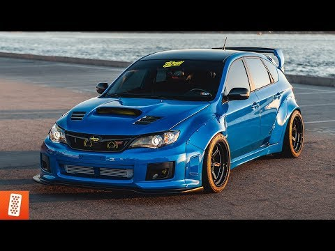 Building a Subaru WRX STI in 18 minutes! (COMPLETE TRANSFORMATION)