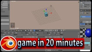 create blender game in 20 minutes