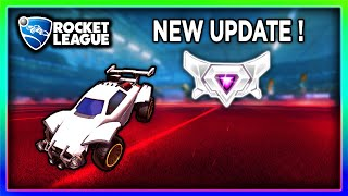 NEW ROCKET LEAGUE UPDATE! | TOP 50 IN 2V2 BUT I'M GRAND CHAMPION 1? (2290 MMR)