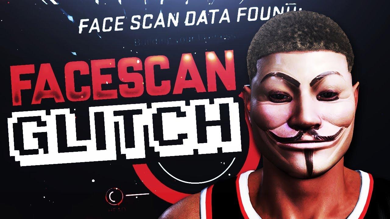 NBA 2K18 3D FACE SCAN GLITCH TUTORIAL