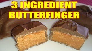 3 Ingredient Homemade Butterfingers