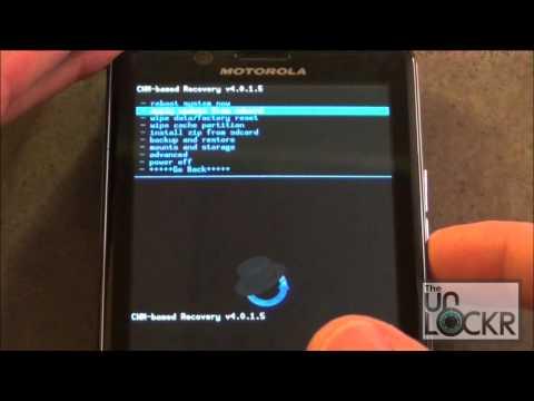 How To Load a Custom ROM on the Motorola Droid Bionic
